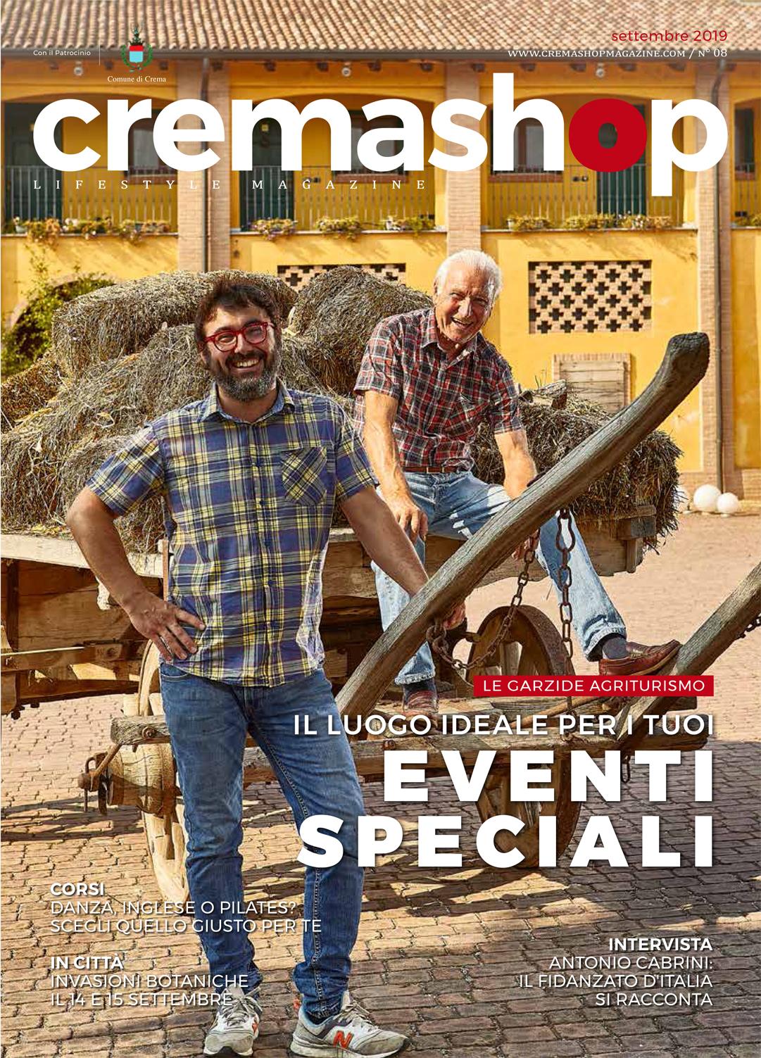 cremashop magazine settembre crema le grazie agriturismo corsi matrimoni cremasco