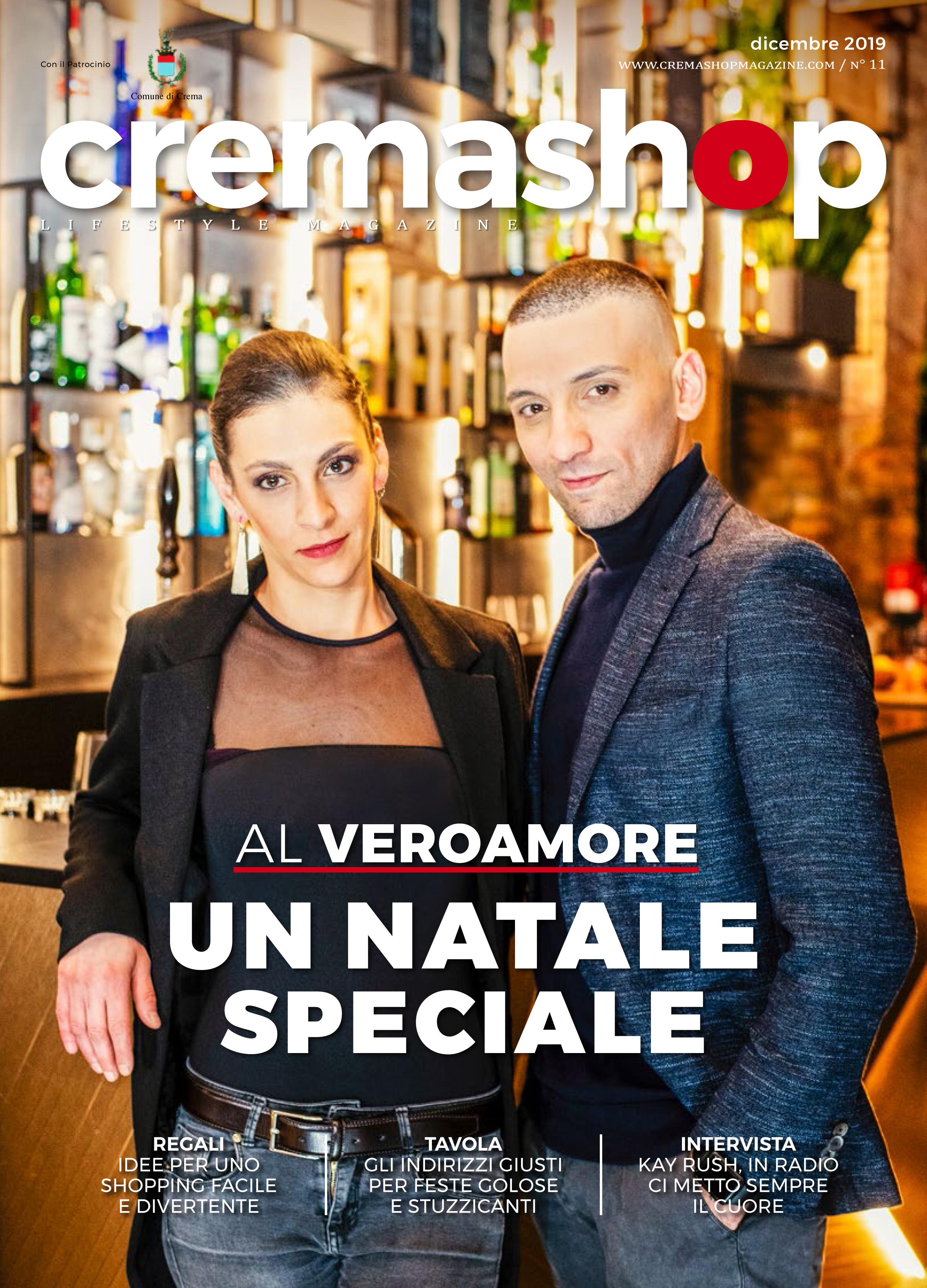 cremashop magazine dicembre crema cremasco locali ristoranti serate natale capodanno laboratorio veroamore vero amore