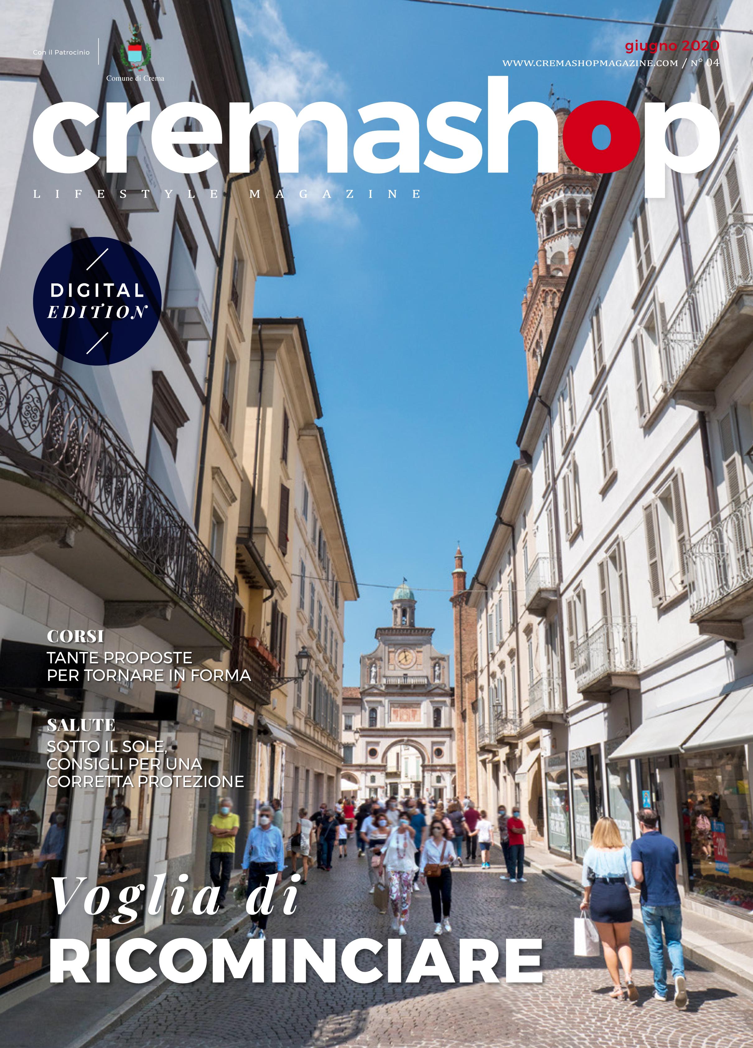 Cremashop Magazine Crema Negozi commercio commerciali riapertura aperture cultura